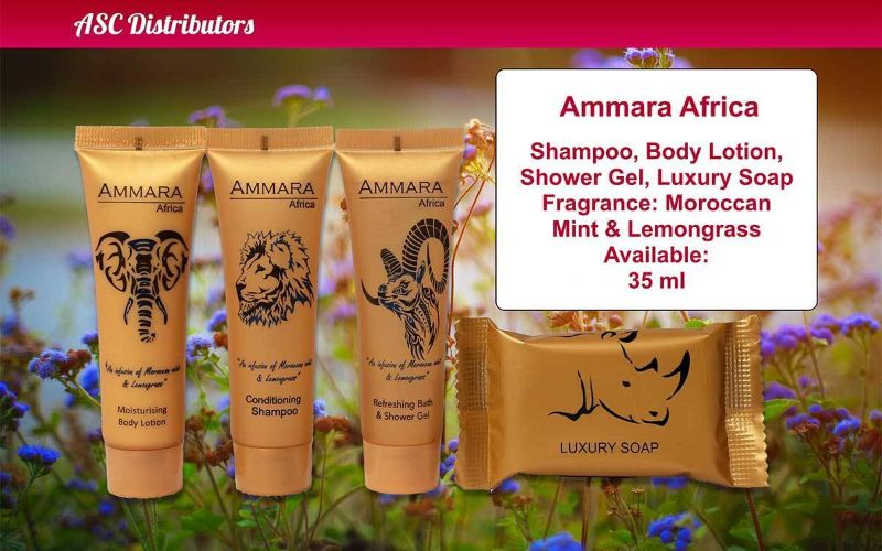 Amara Africa Amenities - ASC Distributors - http://ascdistributors.biz